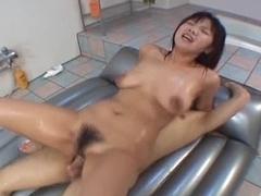 Mika Kurokawa blowjob and creampie