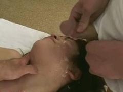Sex plummy covered Asian girl