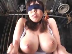 Japanese Big Tit Slave Censored Part 1