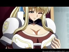 Huge tits fill this venereal hentai episode