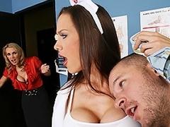 Scott abhors doing oral presentation and is nurse McKenzie's office...