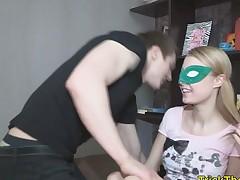 Blindfold sex russian gf punished overwrought stranger