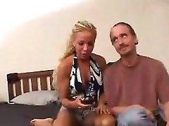 Ashley and Sophia Sandobar 3some