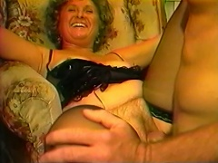 She seems so self-conscious at first but this hot granny Shane loves to suck...