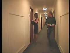 french pair  in a hotel