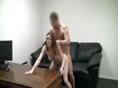 Shy Girl First Time Casting