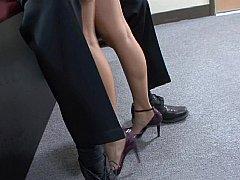 Wife walks in on her spouse & secretary...
