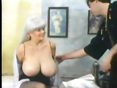 Retro foreplay porn with huge tits honey