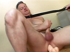 Dominant Female Fucks a Pliant Guy With a Fake penis and Sits On His Face