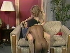 Love it... enjoy it, 'coz this one hell of interracial threesome...