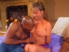 This black knob junkie Lizzy Law gets so nasty in this scene. Getting...