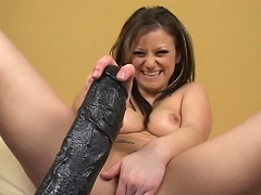 Sexy bitch with precious all-natural tits love anal job more than anything....