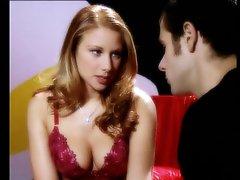 Blonde MILF Julia Taylor Titty Fucks To Take Cum On Her Natural Tits