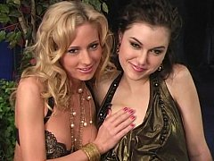 2 young pornstars share a ramrod