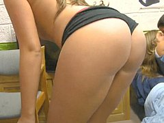 Young sexy roommates in orgy