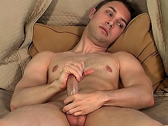 Sexy Homosexual Man Devon Hunter Shows How He Jerks Off On Camera...