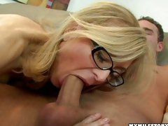 U are never likewise old to be a whore! Nina Hartley can still swallows biggest dicks