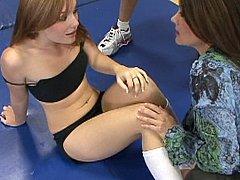 Tutor copulates fleshly teacher, then young coed