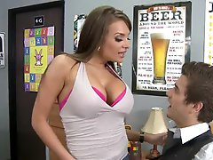 Sexy Gal Nika Noire Fucking Her Nerdy Roommate