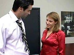 Office Slut Lydia Lee Copulates Her Boss for a Raise