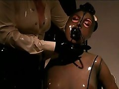 Thrall Beauty Wrapped In Skintight Latex
