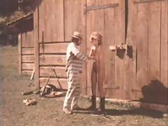Scenes from a naughty western where these babes have to suck and fuck
