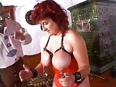 Extreme milf mother granny perverted huge dildos and bizarre bdsm pussy punishment