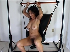 It started in the car, wherein this horny mature slut begins her...