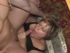 Aged German Slut Lucky With Stud