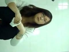 Chinese public crapper voyeur1-6-1