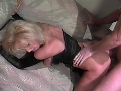 Voluptuous blonde bitch acquires to do some nasty fun with this hunky guy...