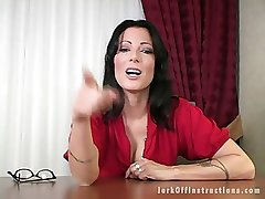 Hot Milf Boss Makes You Stroke Your Weenie as That babe Watches