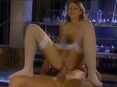 Marvelous bitch Gilda Roberts having anal sex in lab