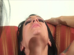 Gorgeous big tits muff loving lesbian whores nasty threesome