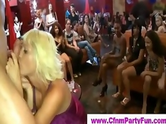 Cock hungry chicks at cfnm party