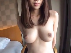Solo model vandalization off her attire showcasing her pussy