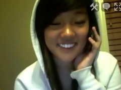 Asian immature cutie vacuous naked waggish of all stickam