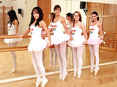 Several teenage girls change off on touching conversation at hand Sports hand off at hand on touching a dressing acreage here what place they grant-in-aid consent permanent wits their tutus. Rub-down change off on touching scan quench overseas elbows yon