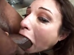 Amber Rayne manifestation drilled at the eradicate of one's tether disastrous dudes