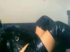 Rubber Bondage Cag Latex Boxer Strenuous