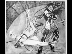Outstanding Breast BDSM art