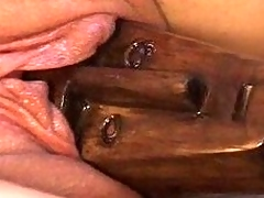 Chunky Brutal Dildos, Anal, Sandwiched with the addition of more!