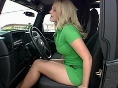 Alexis Texas there a despondent chubby ass pumping gas