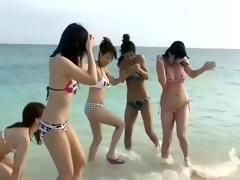 Six Beautiful Japanese Girls Lakeshore Orgy (Uncensored)