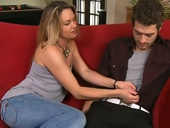 Mommy fucking their way son�s friend