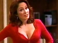 Animalistic Toddler Patricia Heaton Shows Her Incredibly Hot Cleavage