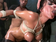 Anal party bourgeon in prison be required of honcho Anissa Kate