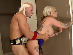 Earthmoving have a passion with dominate MILF Kate Frost increased by hot chap Johnny Sins