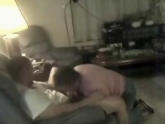Play a joke on see my nasty aunt engulfing my schlong