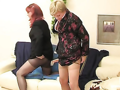 Redhead mouse cadger with his gay co-worker getting the almost all from dildotoying